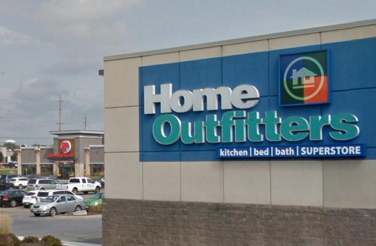 Hudson's Bay Co. is closing all 37 Home Outfitters stores in Canada, including the one located at 821 Rye Street in Peterborough, in 2019. (Photo: Google Maps)