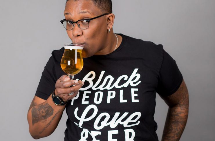 "Co-founder of the Society of Beer Drinking Ladies in Toronto, Ren Navarro is a champion of diversity in Ontario's craft beer industry. She will be speaking at ""Beer Diversity"", an event hosted by The Electric City Brigade of Beer Betches and sponsored by Publican House, on February 17, 2019 at Peterborough Square. (Photo courtesy of Ren Navarro)"