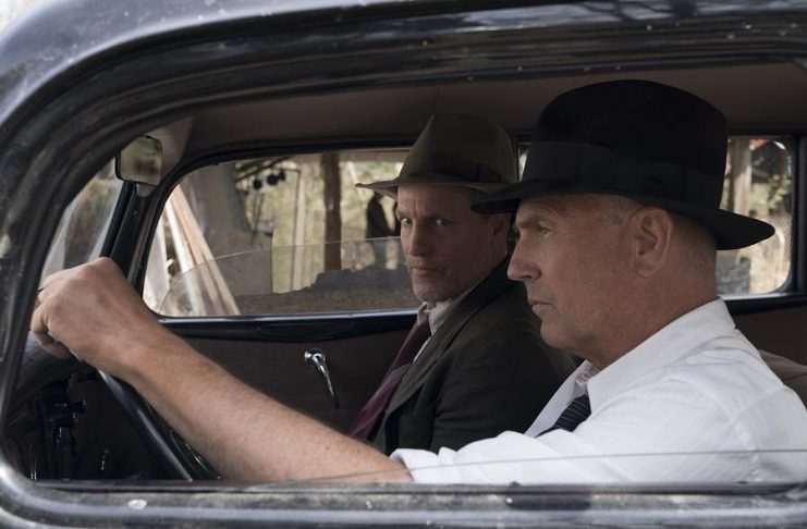 Woody Harrelson and Kevin Costner star as two former Texas Rangers in The Highwaymen, the untold story of the legendary detectives who brought down Bonnie and Clyde. The Netflix film premieres on Friday, March 29. (Photo: Netflix)