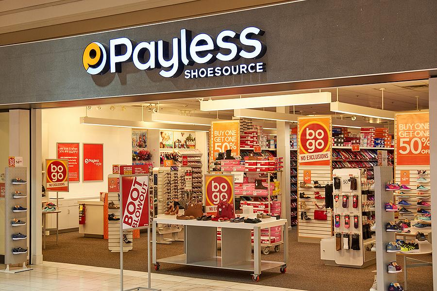 U.S. retailer Payless ShoeSource is closing all of its 2,354 stores in North America, including