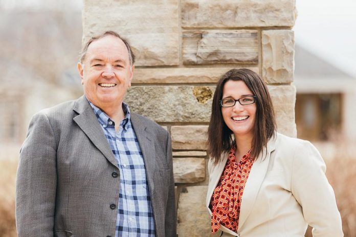 """We have such a great working relationship because we both view how we practice law the same way: it's about our clients."" Lawyers Martha Sullivan and Scott McMichael of Sullivan Law Ptbo, a full-service law firm located at 195 Sherbrooke Street in Peterborough. (Photo: Samantha Moss / MossWorks)"