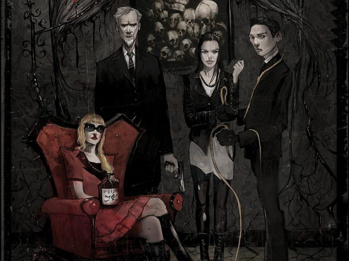 "In ""October Faction"", the upcoming Netflix series about the adventures of a retired monster-hunter and his family based on the comic book by Steve Niles, Anwen O'Driscoll will play the role of Cathy Madconald (which doesn't appear in the original comic) in six of the 11 episodes of the series. (Photo: IDW)"