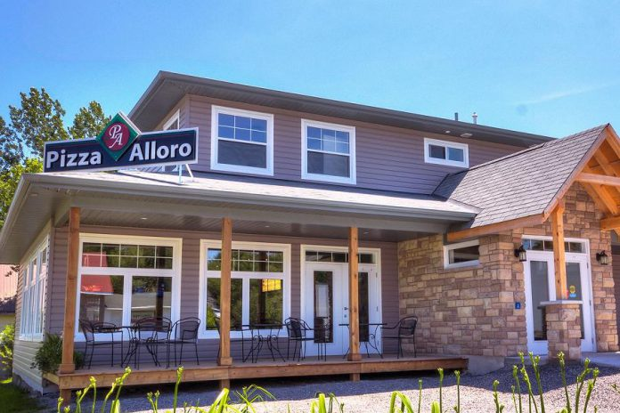 Pizza Alloro is another popular stop in Buckhorn for locals and visitors. (Photo courtesy of Pizza Alloro)