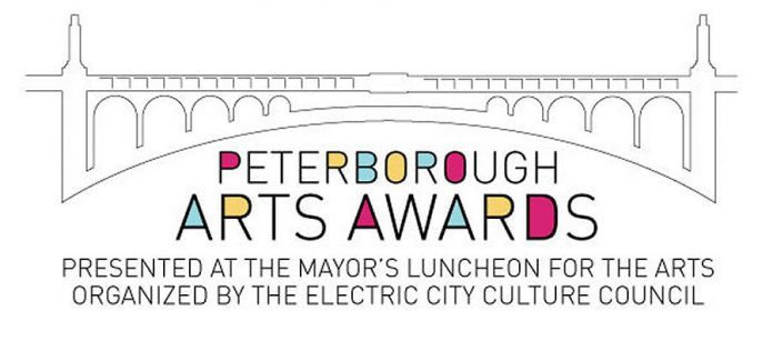 The nomination deadline for the 2019 Peterborough Arts Awards is April 9th. The shortlist of  finalists will be announced on Monday, April 29th, and the awards will be presented on Friday, May 24th. (Graphic: EC3)