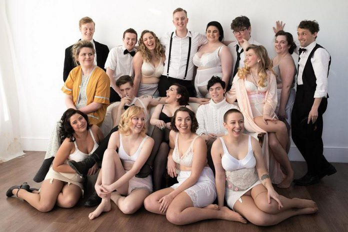 "The cast of Anne Shirley Theatre Company production's of ""Cabaret"". (Photo: Ash Naylor Photography)"