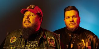 "Juno award-winning indigenous DJ crew A Tribe Called Red (Ehren ""Bear Witness"" Thomas and Tim ""2oolman"" Hill) will be performing a free concert at the newly named Peterborough Subaru main stage at Nicholls Oval Park on Saturday, August 17th as part of the 2019 Peterborough Folk Festival. (Photo: Matt Barnes Photography)"