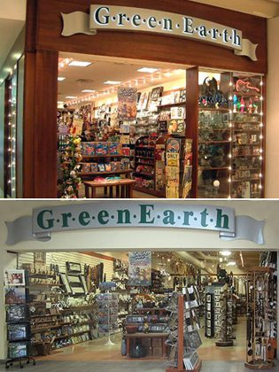 Green Earth stores at Lansdowne Place Mall in Peterborough and Lindsay Square in Lindsay are closing.
