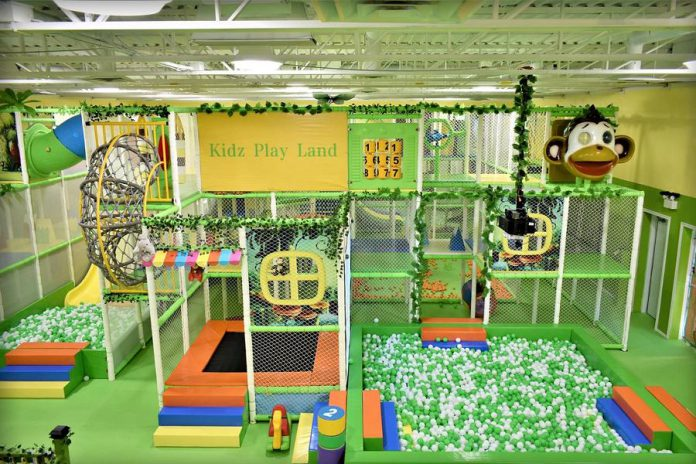 Kidz Playland in Peterborough features slides, obstacles, trampolines, ball pits, ball machines, and an interactive smart board. (Photo: Kidz Playland)