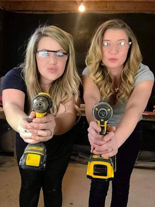 Stephanie Buckley and Holly Suddick are the owners and operators of home décor business Rustically Signed, which will be opening a new store and workshop space on the third floor of  Pie Eyed Monk Brewery in Lindsay on May 4, 2019. (Supplied photo)