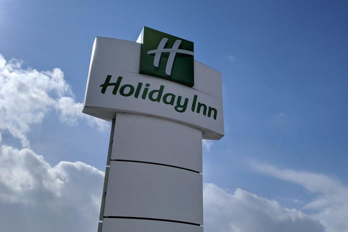 Holiday Inn Peterborough-Waterfront is located at  150 George Street North in downtown Peterborough. (Photo: kawarthaNOW)