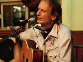 A fixture of the Queen Street scene in Toronto in the 1970s with his band The Continental Drift, Joe Hall's music was compared to that of Frank Zappa and Tom Waits. Hall, who lived in Peterborough for the last 30 years, died on March 22, 2019 after a lengthy illness. (Photo: Joe Hall / Facebook)