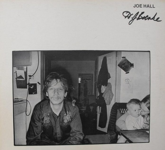 "The cover of Joe Hall and The Continental Drift's 1976 album ""HJ Boenke"", recorded by brothers Bob and Daniel Lanois."