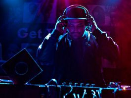 "Jonathan ""Jonny Trash"" Hall DJing at The Twisted Wheel in October 2018. (Photo: Jack Martin)"