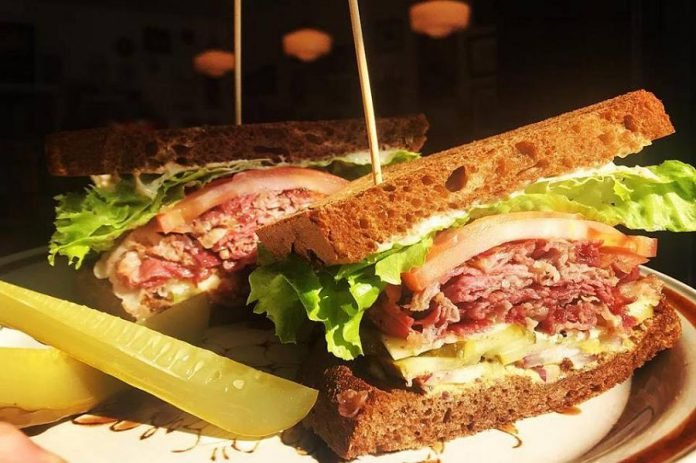 All of Sam's Place's meat is made in house, including the incredible Peterborough Smoked Meat. (Photo: Sam's Place)