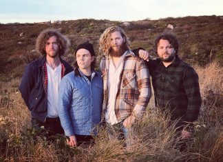 Cape Breton indie folk band Villages (Matt Ellis, Travis Ellis, Jon Pearo, and Archie Rankin) have just released a new record and will be performing at The Garnet in downtown Peterborough on Wednesday, March 27th with country and western musician Nathan Truax. (Publicity photo)
