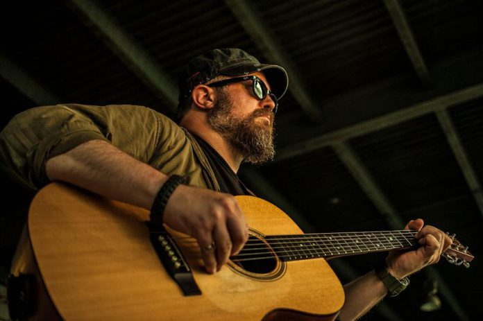 New Brunswick singer-songwriter Colin Fowlie brings his acoustic blues and folk rock to the Black Horse Pub in downtown Peterborough on Wednesday, April 3rd. (Photo: Jay Merle)