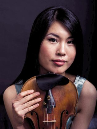 The 2018/19 concert season is British-Canadian violinist Phoebe Tsang's second season as Concertmaster of the PSO. (Photo: Claudia Hung)
