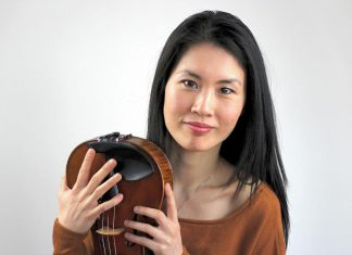 """The Peterborough Symphony Orchestra presents """"Oh, to be in England!"""" at Showplace Performance Centre on April 6, 2019, with works by Benjamin Britten and Ralph Vaughan Williams. British-Canadian violinist and PSO concertmaster Phoebe Tsang will feature as soloist in Vaughan Williams' poignant 'The Lark Ascending'. (Photo: Sullivan Hismans)"""