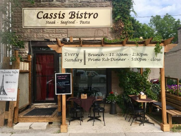 Cassis Bistro at 27 Queen Street. (Photo: Cassis Bistro)