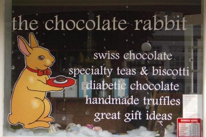 The Chocolate Rabbit at 11 Queen Street. (Photo: The Chocolate Rabbit)