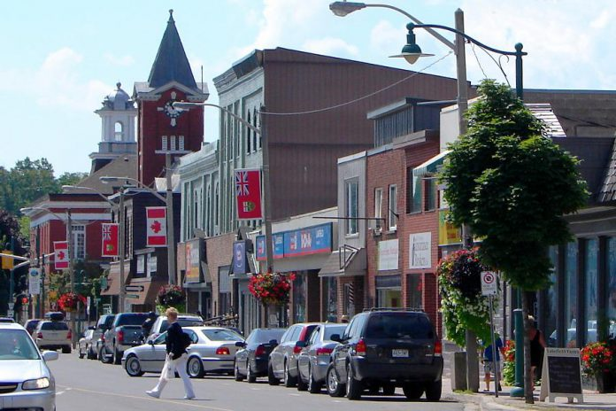 Located 15 minutes north of Peterborough, the Village of Lakefield has a charming small-town feel with many of the amenities of big-city life, including eclectic boutique shops and salons along Queen Street (pictured). The village also has a rich cultural heritage, with some of Lakefield's most famous residents including Samuel Strickland, Catharine Parr Traill, Susanna Moodie, and Margaret Laurence. (Photo: Wikipedia)