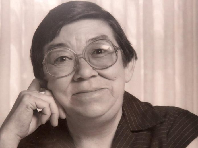 One of Canada's most respected and beloved authors, Margaret Laurence lived in Lakefield from  1974 until her death in 1987. Here she is pictured on her 60th birthday, five months before her death. (Photo: David Laurence)