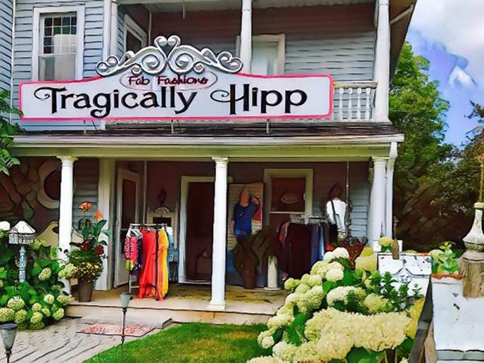 Tragically Hipp Fashion Gallery at 60 Queen Street. (Photo: Tragically Hipp)