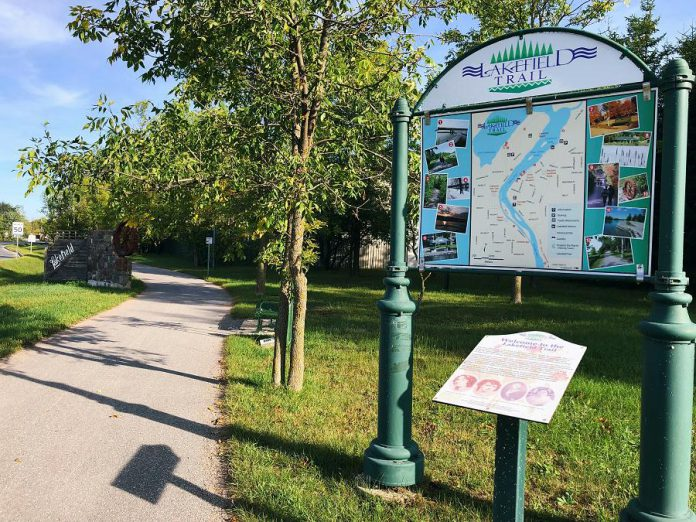 The Lakefield Trail. (Photo: Kawartha Chamber of Commerce & Tourism)