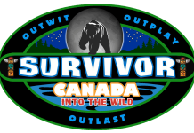 """A protopye logo for the 42nd season of Survivor, tentatively entitled """"Survivor: Into The Wild"""", which will be filmed on location in Canada. Algonquin Park in Ontario heads the list of proposed locations for the 42nd season of the popular reality TV series. (Graphic: AF Department / Castaway Television Productions)"""