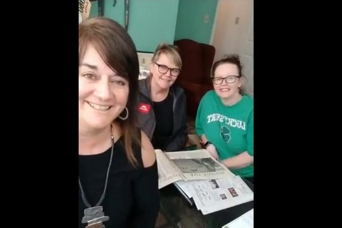 Members of the organizing committee (Sofie Andreou, Amy Simpson, Tracey Ormond) for the 2019 Women In Business and Judy Heffernan Awards announced the 44 nominees on Facebook Live on March 16, 2019. Andreou, Simpson, and Ormond will be the hosts for the awards ceremony on April 9, 2019.