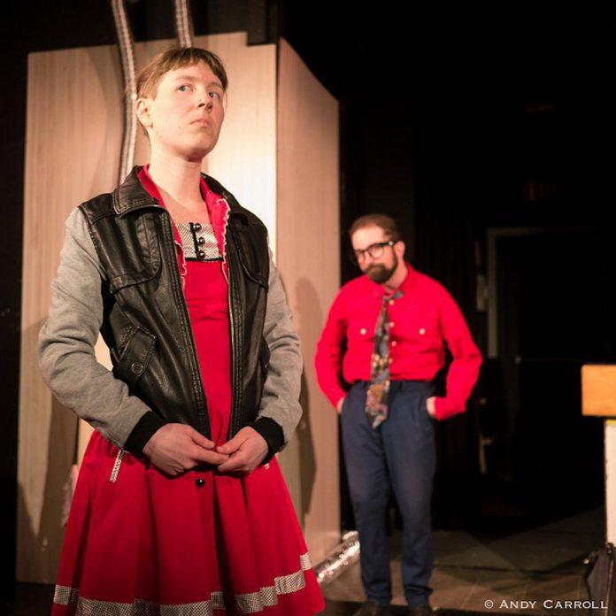 """""""The Anger in Ernest and Ernestine"""" is a dark comedy exploring the cracks that form in a couple's relationship.  (Photo: Andy Carroll)"""
