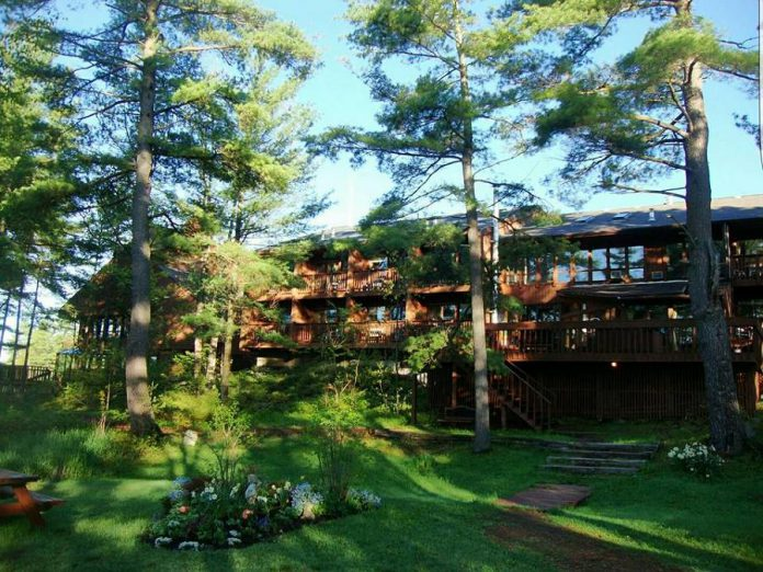 Westwind Inn in Buckhorn is an adult resort surrounded by nature on the shores of Buckhorn Lake. (Photo courtesy of Westwind Inn)