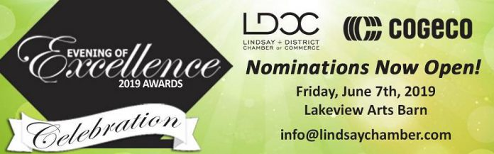 Lindsay and District Chamber of Commerce's 2019 Awards of Excellence