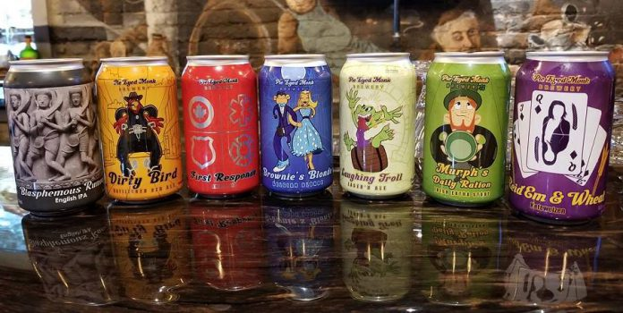 The Pie Eyed Monk Brewery in Lindsay offers seven craft beers, brewed in house by classically trained brew masters. (Photo: Jennifer Bridle)