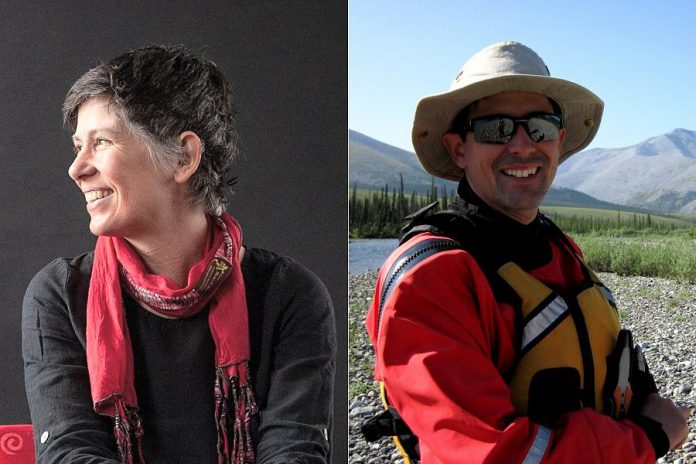 Freshwater protection activist Meredith Brown and  paddler and outdoor enthusiast Brian Groves have joined the board of The Canadian Canoe Museum. (Supplied photos)