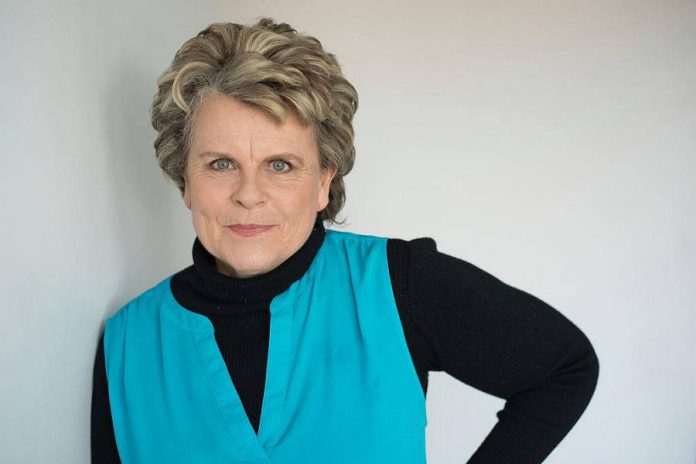 Comedian Deborah Kimmett, who recently entered her sixties, has been working in comedy for more than 40 years. As well as being a comedian, she is a writer, actress, and inspirational speaker.  (Publicity photo)