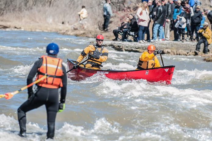 'Float Your Fanny Down the Ganny' begins with a 14-kilometre canoe and kayak race, departing from the Canton bridge at 10 a.m. on  April 13, 2019.  (Photo: Walton St. Photography)