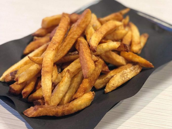 Olympus Burger in Port Hope is offering an order of french fries for $1 during race day. (Photo: Giorgos Kallonakis / Olympus Burger)