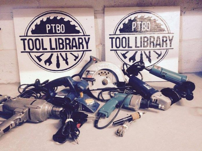 Donated tools that have been repaired and are available to borrow from the Peterborough Tool Library. (Photo: Peterborough Tool Library)
