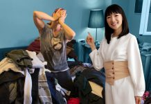 Organizing guru Marie Kondo's books and popular Netflix show have resulted in a surge of donations to thrift shops around the world. If you're purging this spring, consider donating clothing, toys, sheets, and other gently used items to a local non-profit or charitable organization. (Photo: Nextflix)