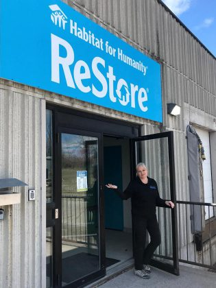 Habitat for Humanity Peterborough and Kawartha Region's new ReStore 14,000-square-foot retail site at 300 Milroy Drive in Peterborough now also houses the charitable organization's administrative offices, freeing up an additional 1,700 square feet of retail space at the Braidwood ReStore to hold even more donated items. (Photo courtesy of Habitat for Humanity Peterborough and Kawartha Region)