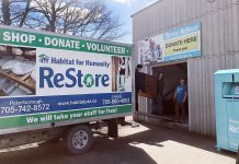 Habitat for Humanity Peterborough and Kawartha Region recently opened a new 14,000-square-foot ReStore retail site at 300 Milroy Drive in Peterborough to sell new and gently used household items and building materials at a discounted price. Habitat also has ReStore locations at 550 Braidwood Drive in Peterborough and at 55 Angeline Street North in Lindsay. All ReStore revenues are used to cover the charitable organization's administrative costs, so 100 per cent of donations can go towards supporting building projects for affordable housing. (Photo courtesy of Habitat for Humanity Peterborough and Kawartha Region)