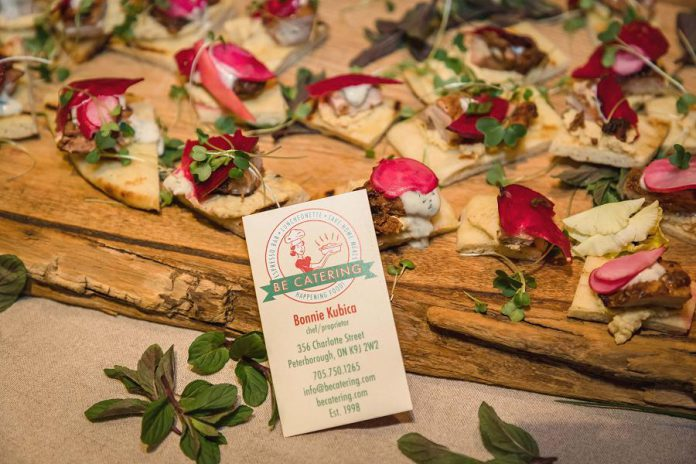 Hor d'oeuvres by BE Catering at the 2018 Business Hall of Fame event. BE Catering will be returning to the culinary showcase again this year. (Photo: Heather Doughty)