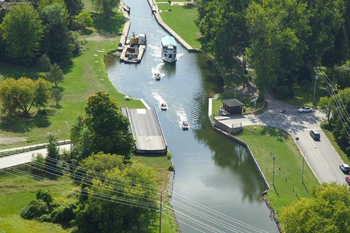 Over the next few weeks, Parks Canada is conducting spring maintenance on swing bridges in the Trent-Severn Waterway across the Kawarthas. Pictured is the Maria Street Swing Bridge in Peterborough, which connects Ashburnham Road to East City. It will be closed from 9 a.m. to 2:30 p.m. on April 30, 2019. Warsaw Road Swing Bridge and McFarlane Street Bridge will also be temporarily closed on April 24 and May 1 respectively.