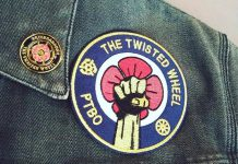 PTBO Northern Originals owner Mike Watt has created a pin and patch to continue the legacy of the late Jonathan Hall, with proceeds from their sale going to support The Twisted Wheel, the bar and music venue in downtown Peterborough that Hall co-owned with Mike Judson and his wife Jennifer. (Photos: PTBO Northern Originals)