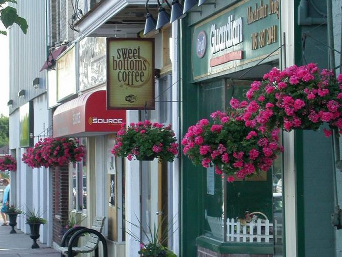 Sweet Bottoms Coffee at 19 Colborne Street in Fenelon Falls is closing on May 6, 2019. (Photo: Sweet Bottoms Coffee / Facebook)