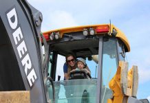 Kids of all ages can explore different types of vehicles at Touch-A-Truck, a family event that raises funds for programming at The Canadian Canoe Museum. It takes place in the museum's parking lot from 9:30 a.m. to 2:30 p.m on Sunday, May 26, 2019. (Photo courtesy of The Canadian Canoe Museum)