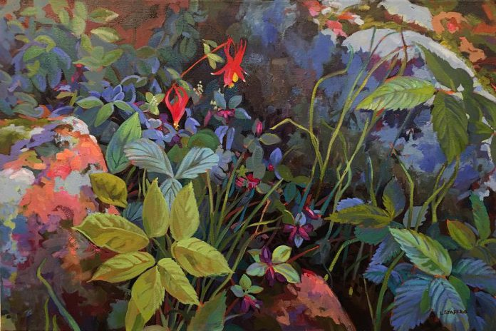 "'Hidden Garden' by Lorraine Staples, one of the artists taking part in the ""Multimedia Extravaganza"" group show at Kawartha Artists' Gallery and Studio in June. (Photo courtesy of Kawartha Artists' Gallery and Studio)"