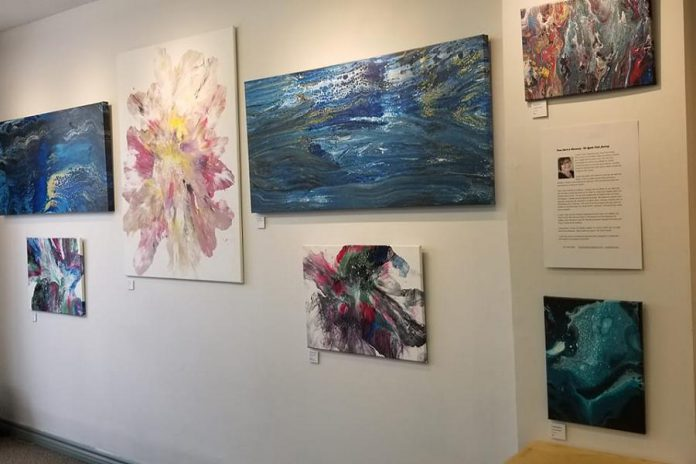 Lynda Todd's 'From Dark to Discovery' exhibit is on display at Paul's Art & Frame Gallery in Peterborough during June. (Photo courtesy of the artist)