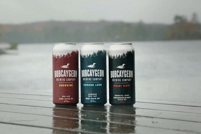 Three of the brews produced by Bobcaygeon Brewing Company, which will be opening a retail store and tap room in Peterborough this summer in the former Beard Free Brewing location.  (Photo: Bobcaygeon Brewing Company)